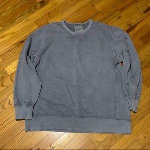 American Eagle Men's XXL Grey Crewneck Sweatshirt
